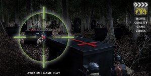 Night games, twilight games at Delta Force Paintball Canada